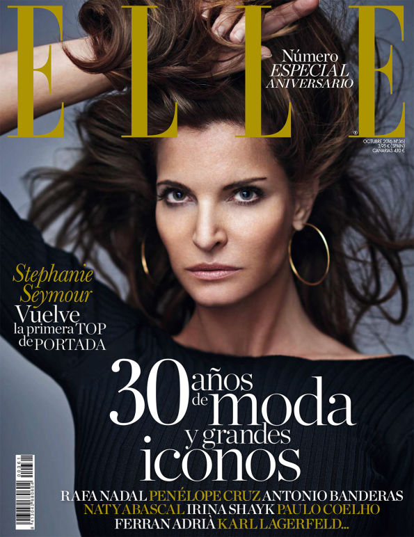 Glenn Marziali MAKE UP Elle Magazine