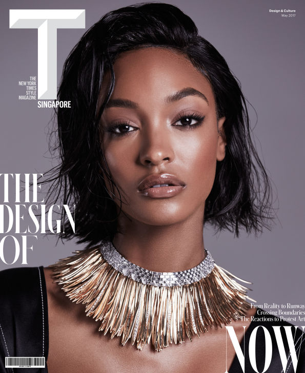 Yusef HAIR Jourdan Dunn T Magazine