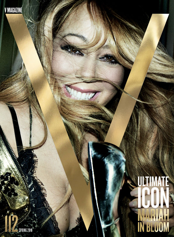 Yusef HAIR Mariah Carey - V Magazine