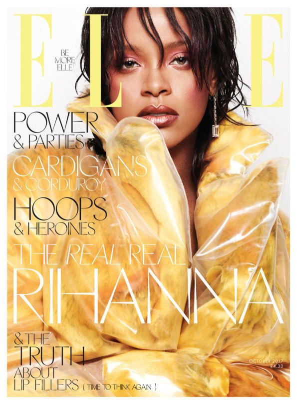 Yusef HAIR Rihanna Elle US