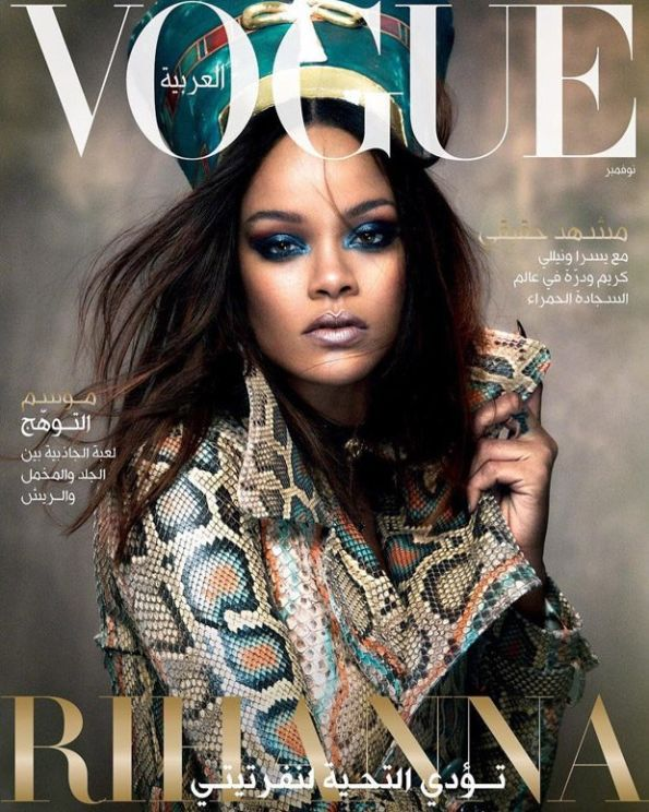 Yusef HAIR Rihanna Vogue Arabia