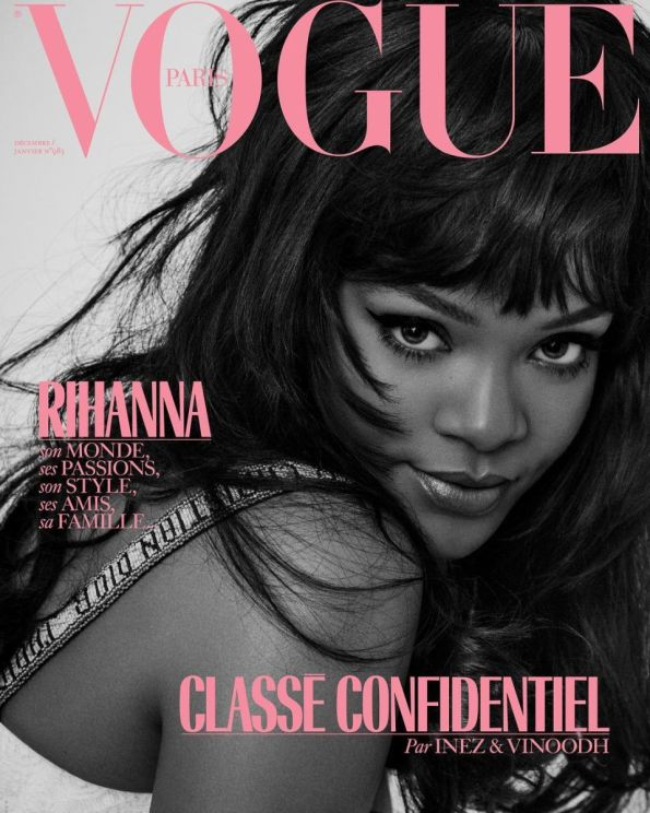 Yusef HAIR Rihanna Vogue Paris
